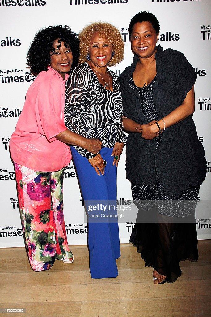 Merry Clayton, Darlene Love and Lisa Fischer attend 'Twenty Feet from Stardom at Times Center on June 11, 2013 in New York City.