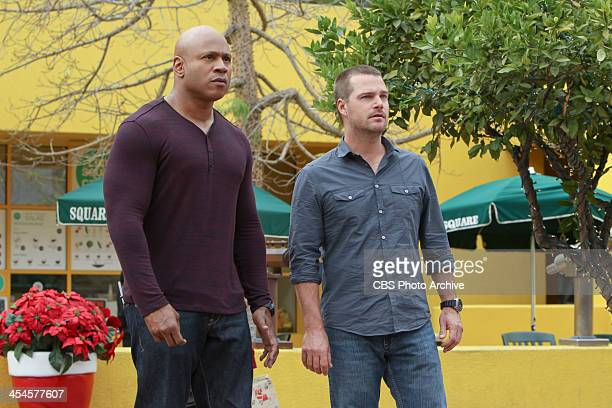 "Merry Evasion "" Pictured LL COOL J and Chris O'Donnell The NCIS Los Angeles team searches for a motive when a Senator's daughter is attacked..."