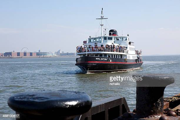 mersey ferry boat - ferry stock photos and pictures
