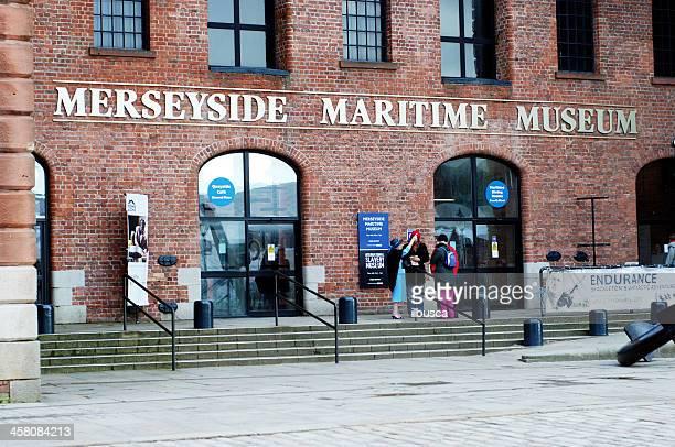 Merseyside Maritime Museum in the Albert Dock, Liverpool