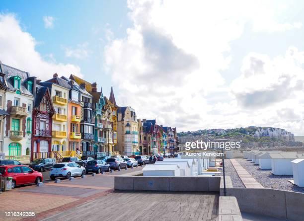 フランス ソンム メル・レ・バン・ビーチ - オードフランス地域圏 ストックフォトと画像