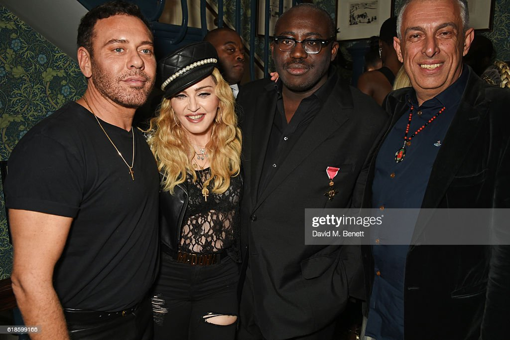 Edward Enninful's OBE Dinner : News Photo
