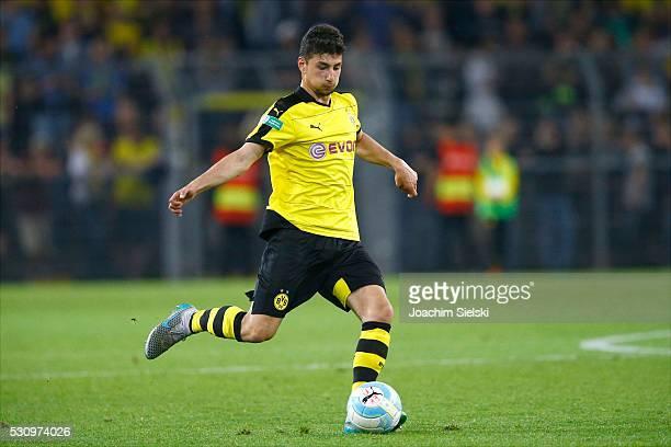 Mert Sahin of Dortmund during the German U19 Championship Semi Final First Leg match between Borussia Dortmund and 1860 Muenchen at Signal Iduna Park...