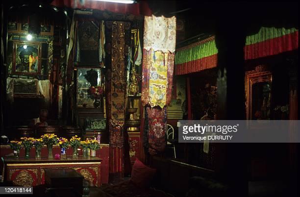 Meru sarpa monastery, Lhasa, Tibet in Lhasa, China.