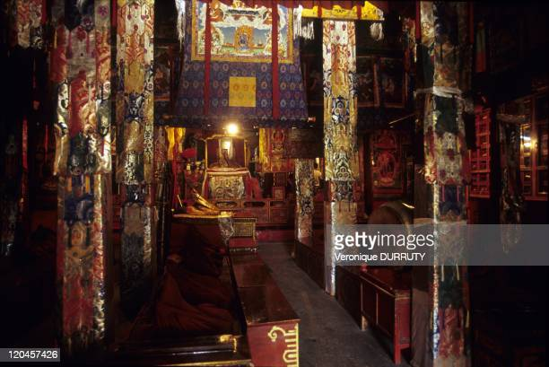 Meru Sarpa monastery Tibet in Lhasa China