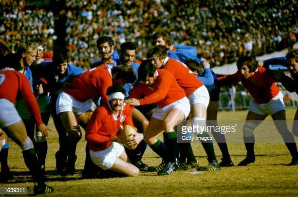 Mervyn Davies of the British Lions in action during the Rugby Lions tour of South Africa South Africa Mandatory Credit Allsport UK /Allsport