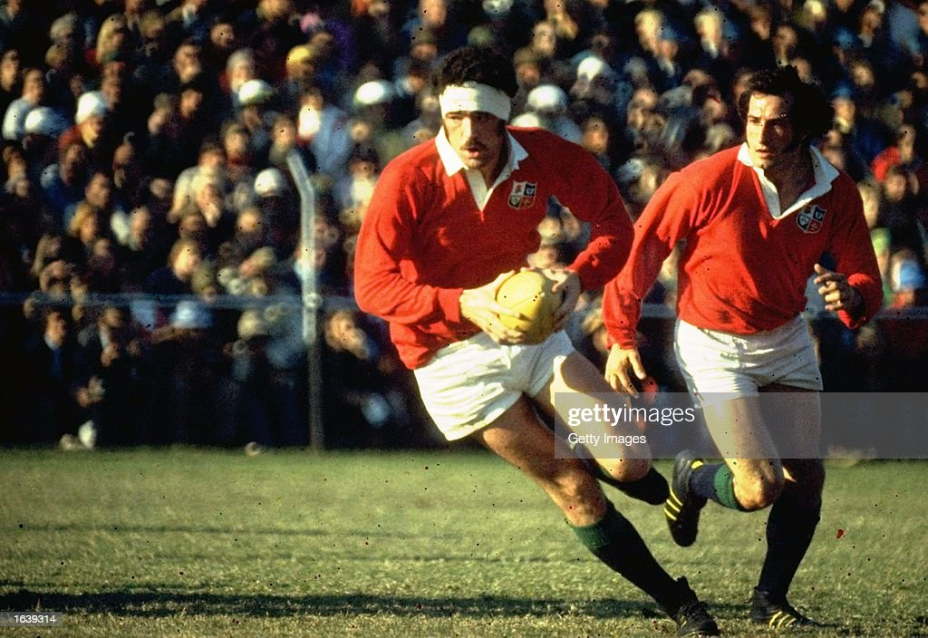 Mervyn Davies of the British Lions : News Photo