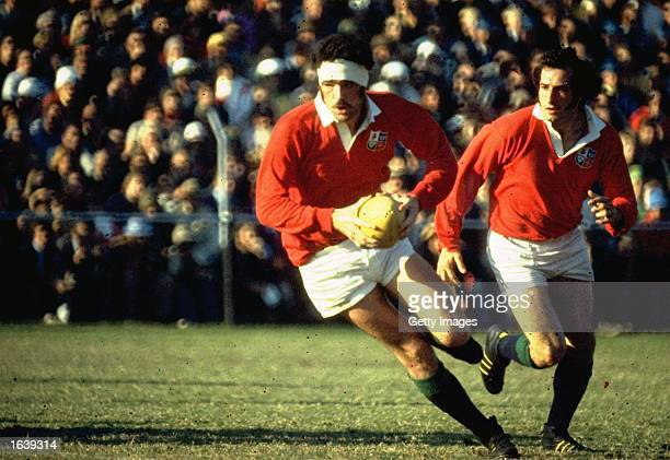 Mervyn Davies of the British Lions in action during the Rugby Lions tour of South Africa, South Africa. \ Mandatory Credit: Allsport UK /Allsport
