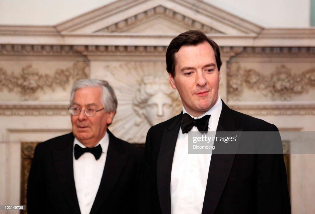 City of London Bankers & Merchants Dinner With George Osborne