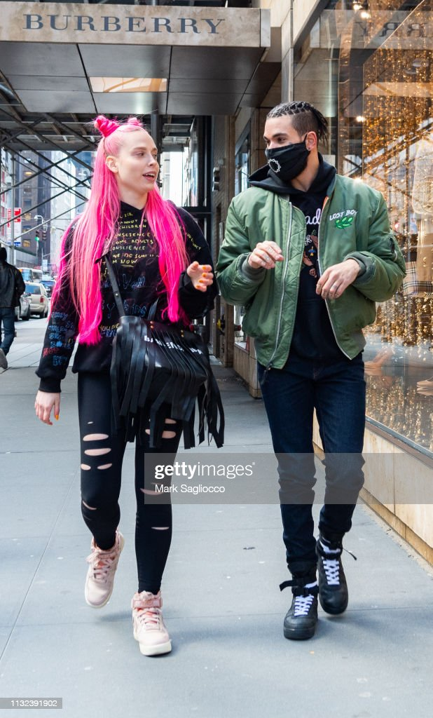 Celebrity Sightings In New York City - February 26, 2019 : News Photo