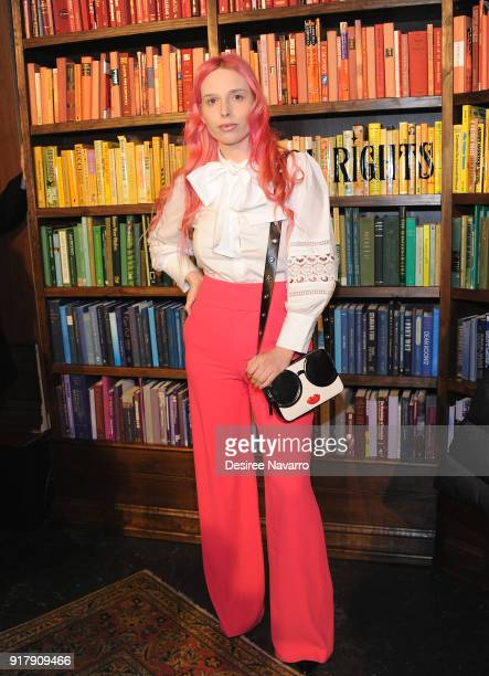 Mery Racauchi attends Alice Olivia by Stacey Bendet presentation during New York Fashion Week The Shows at Industria Studios at Gallery II at Spring...