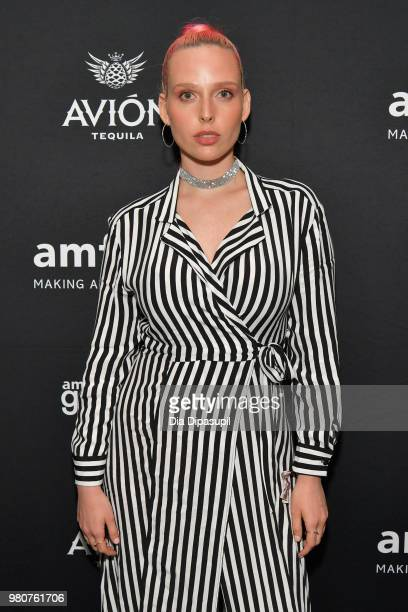 Mery Racauchi attends the amfAR GenCure Solstice 2018 on June 21 2018 in New York City