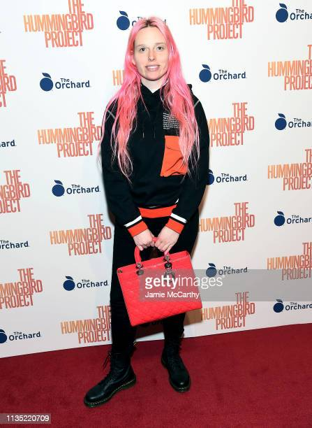 """Mery Racauchi attends """"The Hummingbird Project"""" New York Screening at Metrograph on March 11, 2019 in New York City."""