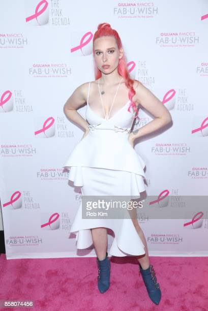 Mery Racauchi attends The Pink Agenda 10th Annual Gala at Three Sixty Degrees on October 5 2017 in New York City