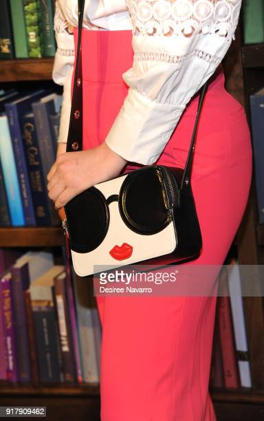 Mery Racauchi purse detail attends Alice Olivia by Stacey Bendet presentation during New York Fashion Week The Shows at Industria Studios at Gallery...