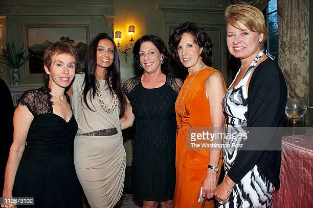 Meryl Chertoff Abeer Alotaiba Beth Wilkinson Beth Dozoretz and Gail Brown at Rima AlSabah's birthday party held at Lea and Wayne Berman's home in...