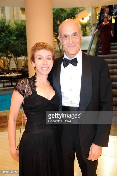 Meryl Chertoff and Michael Chertoff attend the National Law Enforcement Officers 20th anniversary gala at the Grand Hyatt on October 12 2011 in...