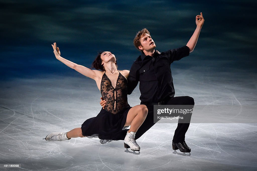Meryl Davis and Chalie White perform during the Japan Open 2015 Figure Skating at Saitama Super Arena on October 3, 2015 in Saitama, Japan.
