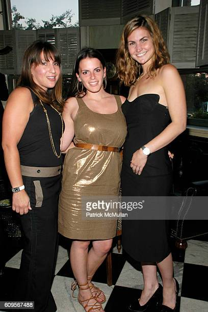 Meryl Lander and Kate Montini attend ALEK WEK's Book Launch of ALEK From Sudanese Refugee to International Supermodel Hosted by The Wall Street...
