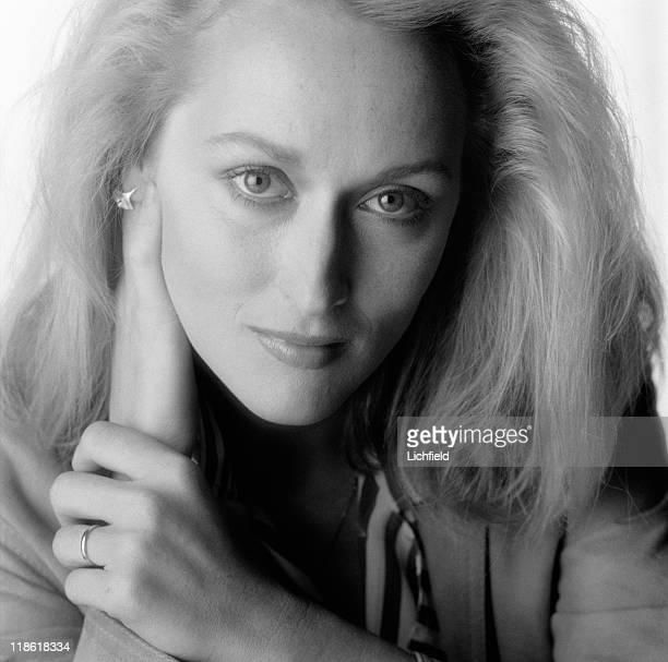 Meryl Streep American actress 11th October 1981