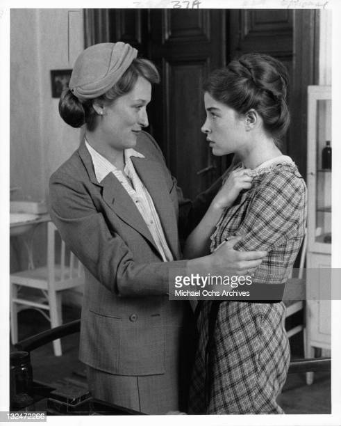 Meryl Streep And Blanche Baker in a scene from the film 'Holocaust' 1978
