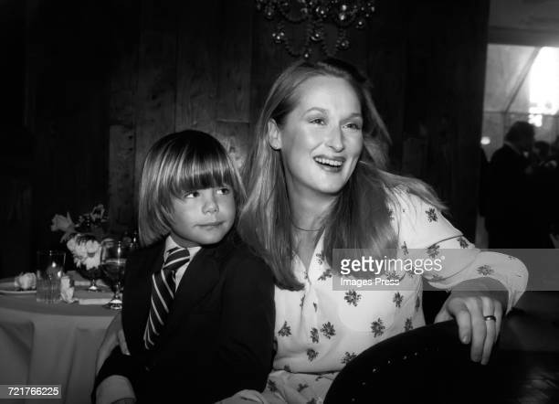 Meryl Streep and costar Justin Henry circa 1980 in New York City