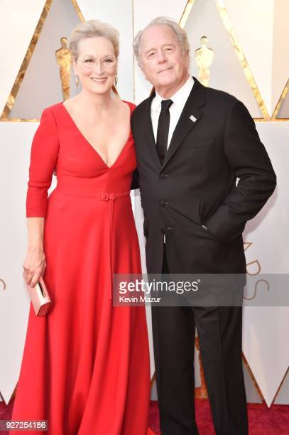 Meryl Streep and Don Gummer attend the 90th Annual Academy Awards at Hollywood Highland Center on March 4 2018 in Hollywood California