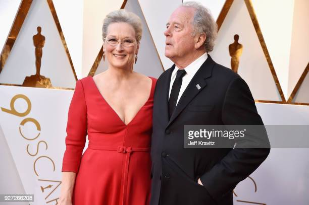 Meryl Streep and Don Gummer attend the 90th Annual Academy Awards at Hollywood & Highland Center on March 4, 2018 in Hollywood, California.