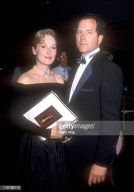 Meryl Streep and Don Gummer during 61st Annual Academy Awards - Governor's Ball at Shrine Auditorium in Los Angeles, California, United States.