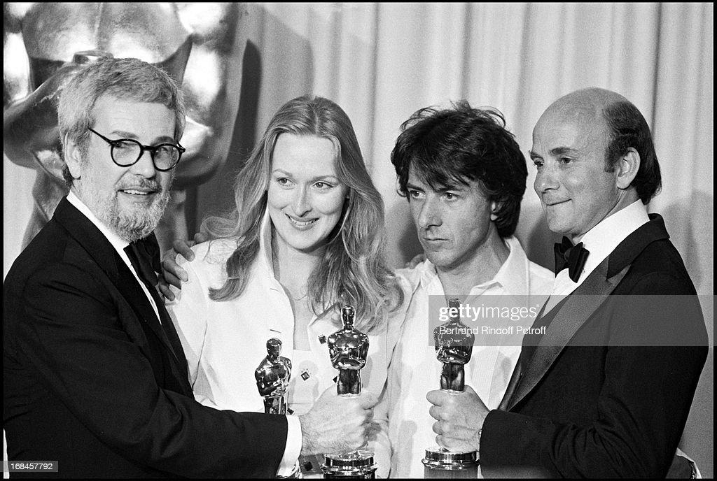 Meryl Streep and Dustin Hoffman Oscars 1979 Archive Photos 1979 : News Photo