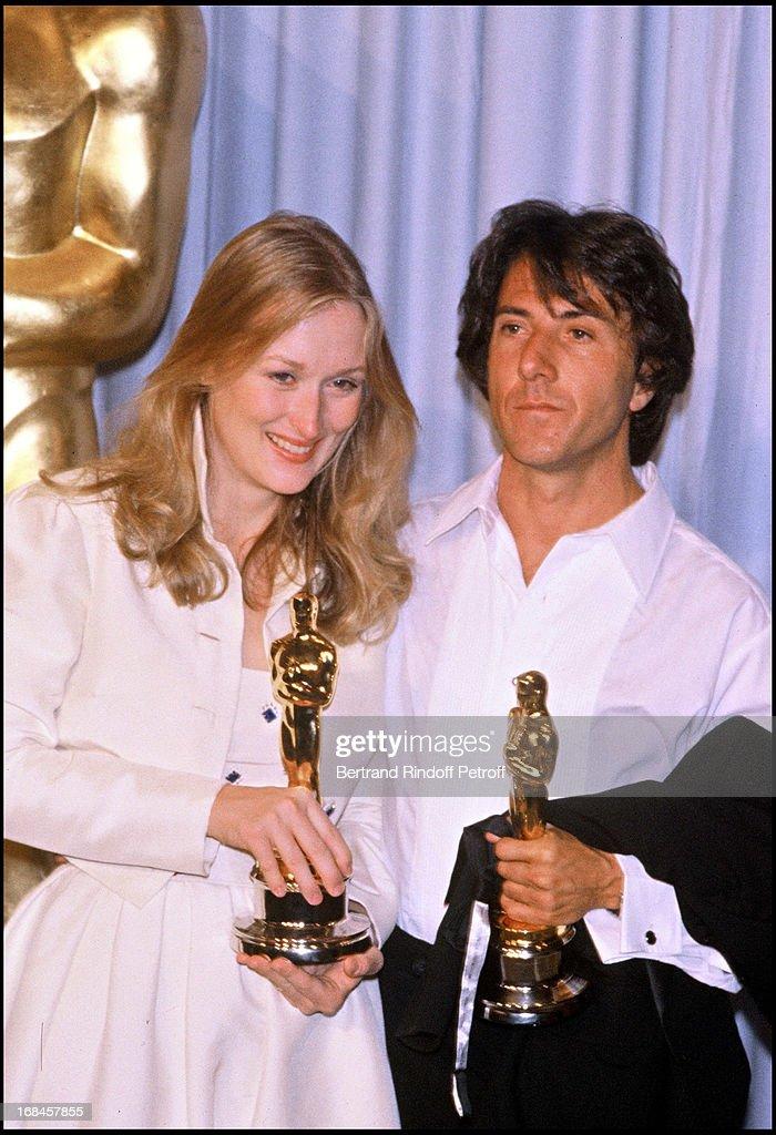 Meryl Streep And Dustin Hoffman Oscars 1979 Archive Photos 1979.