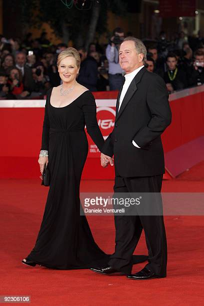 Meryl Streep and husband Don Gummerattend the Official Awards Ceremony during Day 9 of the 4th International Rome Film Festival held at the...
