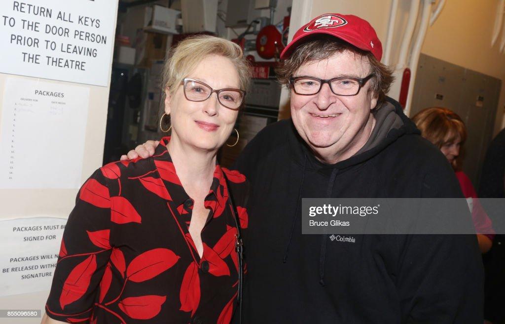 Celebrities Visit Broadway - September 27, 2017