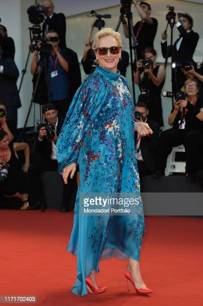 Meryl Streep at the 76 Venice International Film Festival 2019 The Laundromat red carpet Venice September 1st 2019