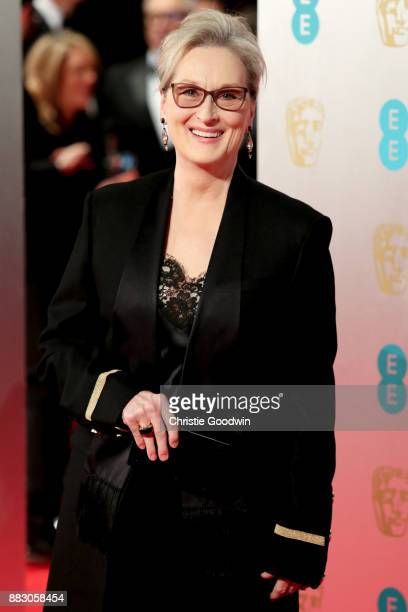 Meryl Streep at the British Academy Film Awards 2017 at The Royal Albert Hall on February 12 2017 in London England