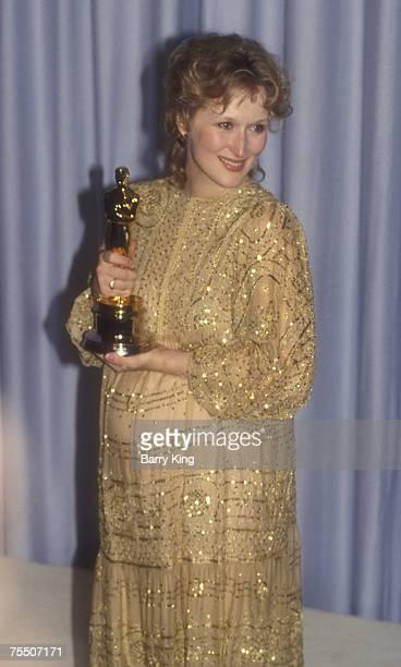 Meryl Streep at the Dorothy Chandler Pavilion in Los Angeles CA