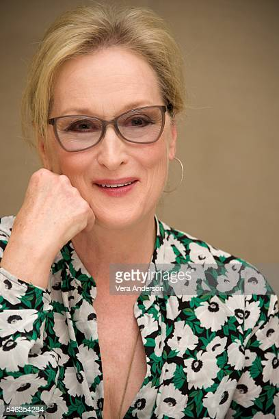 Meryl Streep at the 'Florence Foster Jenkins' Press Conference at the Conrad Hotel on July 11 2016 in New York City