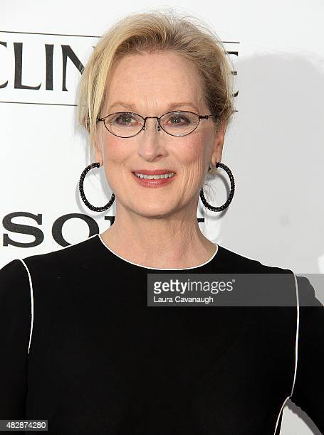 Meryl Streep attends Ricki And The Flash New York Premiere at AMC Lincoln Square Theater on August 3 2015 in New York City