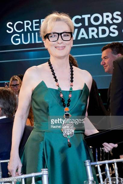 Meryl Streep attends the 26th Annual Screen Actors Guild Awards at The Shrine Auditorium on January 19 2020 in Los Angeles California