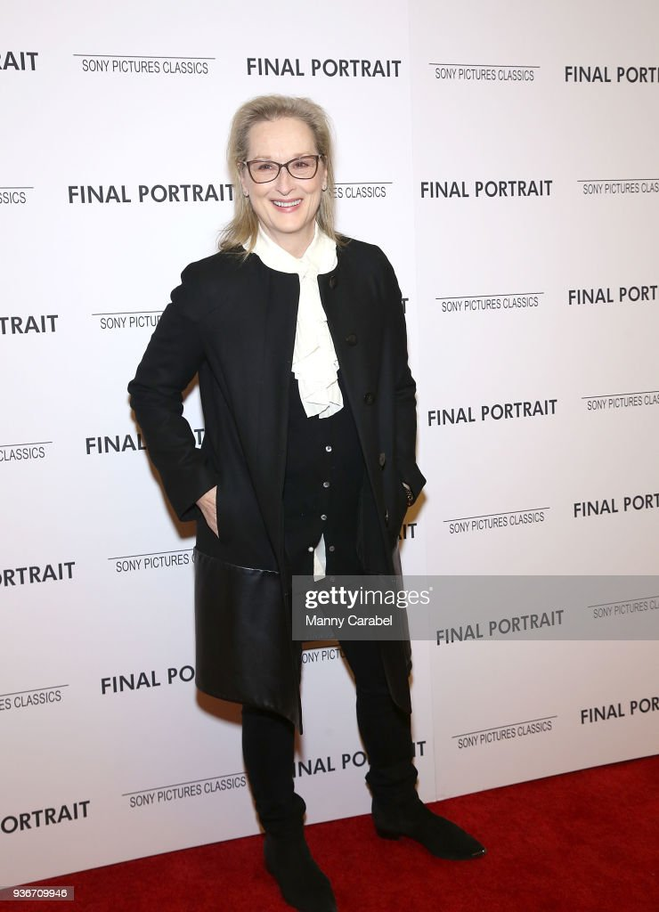"""Final Portrait"" New York Screening"