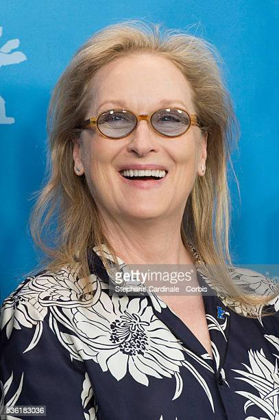 Meryl Streep attends the International Jury photo call during the 66th Berlinale International Film Festival at Grand Hyatt Hotel on February 11,...