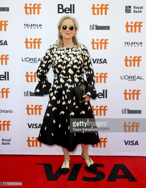 Meryl Streep attends The Laundromat premiere during the 2019 Toronto International Film Festival at Princess of Wales Theatre on September 09 2019 in...