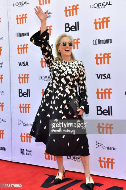 Meryl Streep attends the North American Premiere of 'The Laundromat' at the The Princess of Wales Theatre on September 09 2019 in Toronto Canada