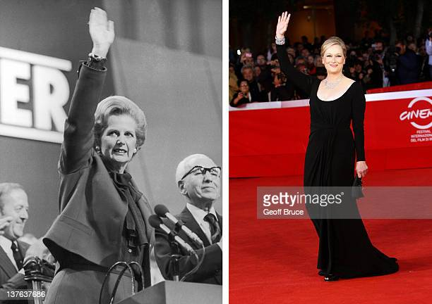 In this composite image a comparison has been made between Margaret Thatcher and actress Meryl Streep Oscar hype continues this week with the...