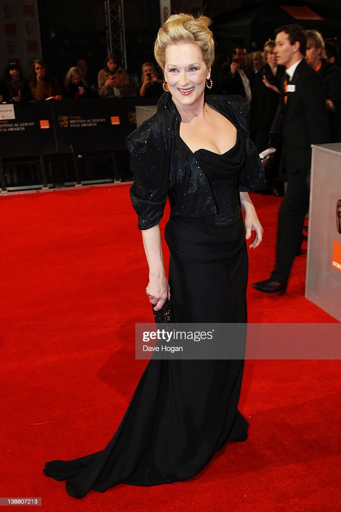 Meryl Streep attends The Orange British Academy Film Awards 2012 at The Royal Opera House on February 12, 2012 in London, England.