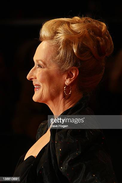 Meryl Streep attends The Orange British Academy Film Awards 2012 at The Royal Opera House on February 12 2012 in London England