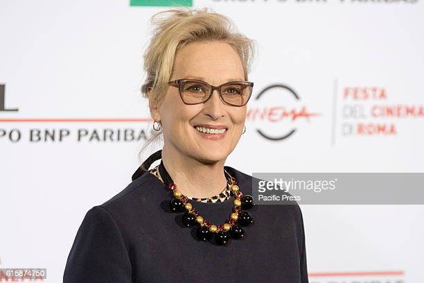 Meryl Streep attends the photocall of the film Florence Foster Jenkins at Festa del Cinema 2016 in Rome Oscarwinning actress Meryl Streep is one of...