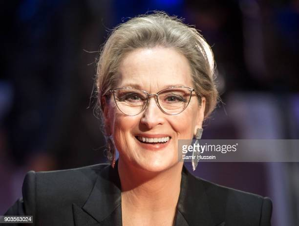 Meryl Streep attends 'The Post' European Premeire at Odeon Leicester Square on January 10 2018 in London England