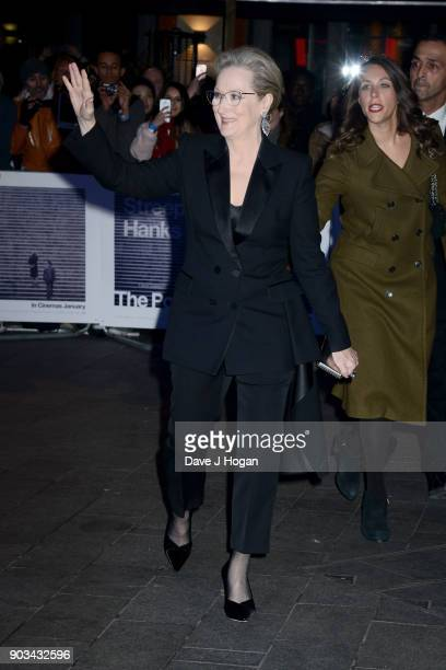 Meryl Streep attends 'The Post' European Premiere at Odeon Leicester Square on January 10 2018 in London England
