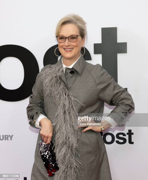 Meryl Streep attends the 'The Post' Washington DC Premiere at The Newseum on December 14 2017 in Washington DC